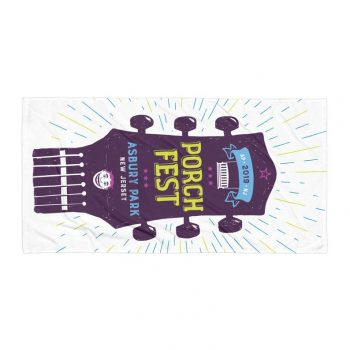 PorchFest Beach Towel