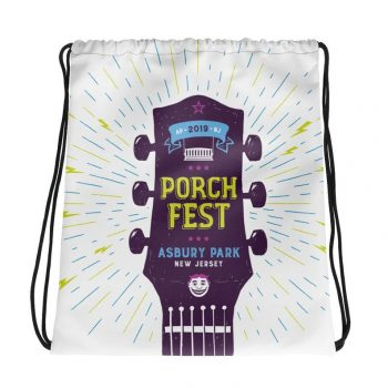 PorchFest Drawstring Bag